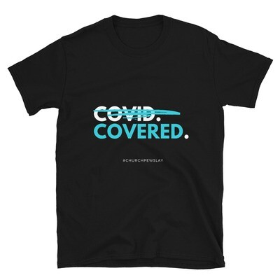 Covered Blue Short-Sleeve Unisex T-Shirt