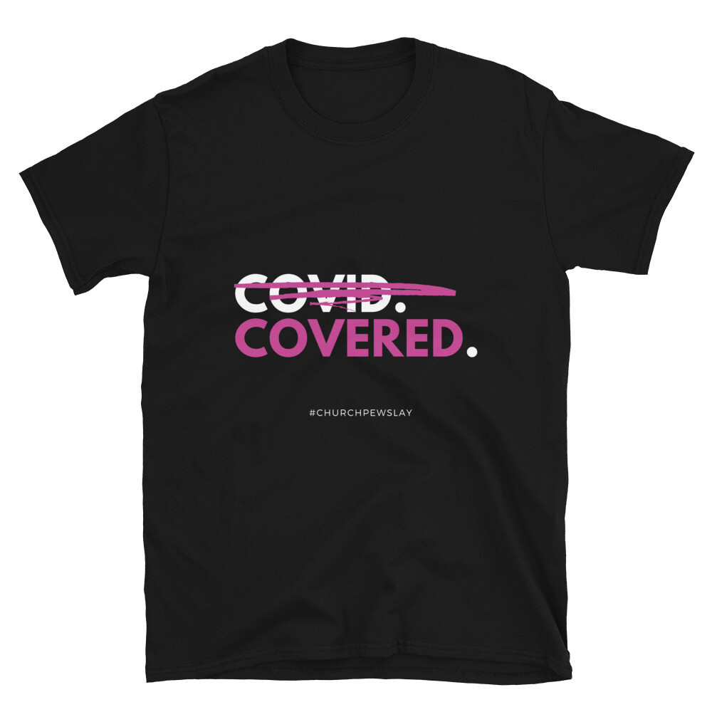 Covered Pink Short-Sleeve Unisex T-Shirt