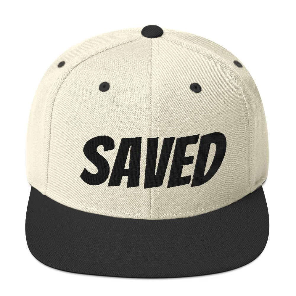 Saved Snapback Hat