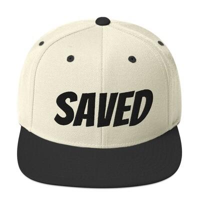 Saved Snapback Hat