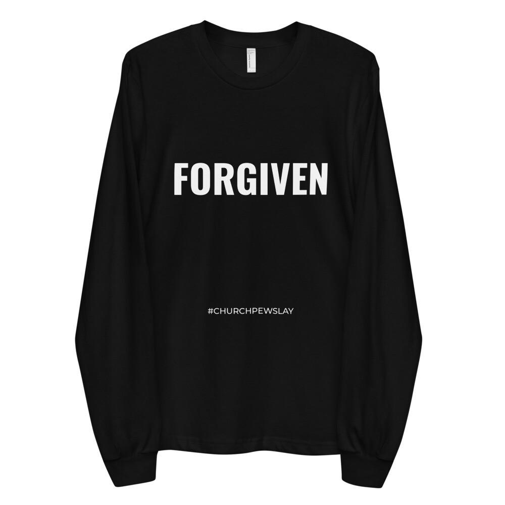 FORGIVEN Long Sleeve Unisex T-shirt