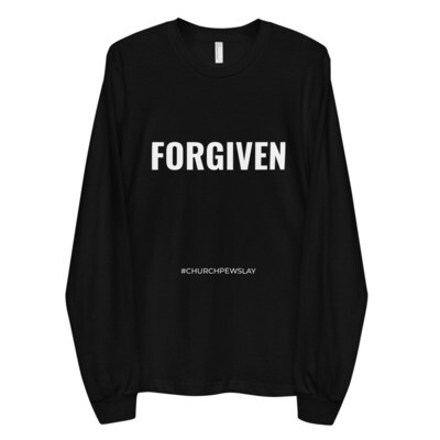 FORGIVEN Long Sleeve Unisex T-shirt
