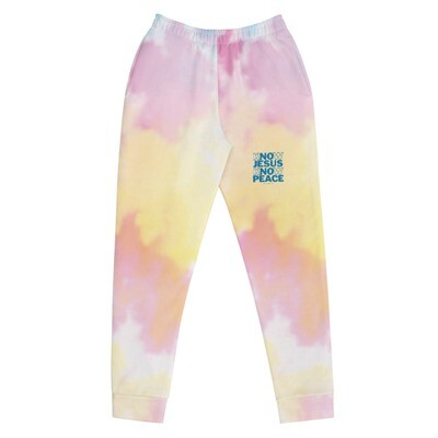 Know Jesus Know Peace Tie Dye Women's Joggers