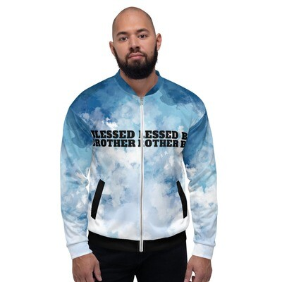 Blessed Brother Unisex Bomber Jacket