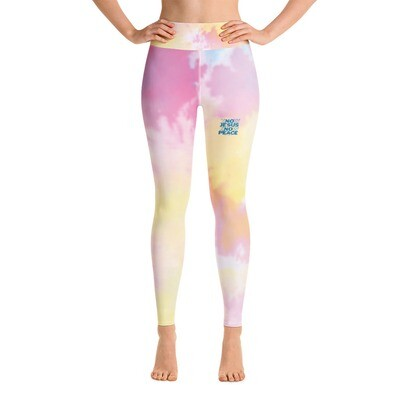 Know Jesus Know Peace Yoga Leggings