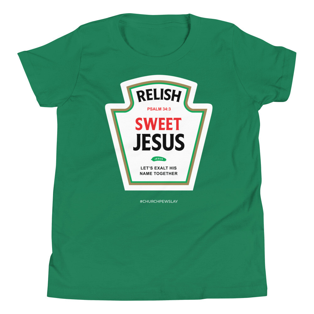 Relish Sweet Jesus Youth Short Sleeve T-Shirt