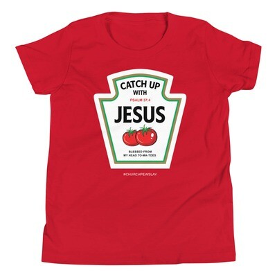 Catch Up With Jesus Youth Short Sleeve T-Shirt