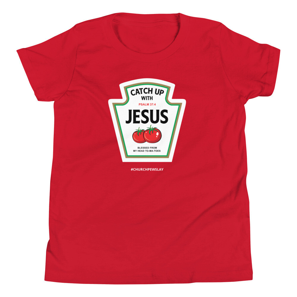 Catchup With Jesus Youth Short Sleeve T-Shirt