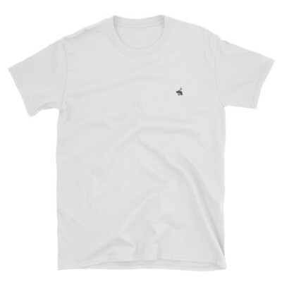 White T-Shirt / Black Logo