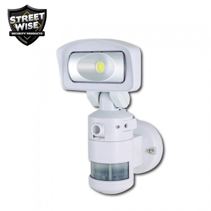Nightwatcher Robotic LED Security Light w/Camera