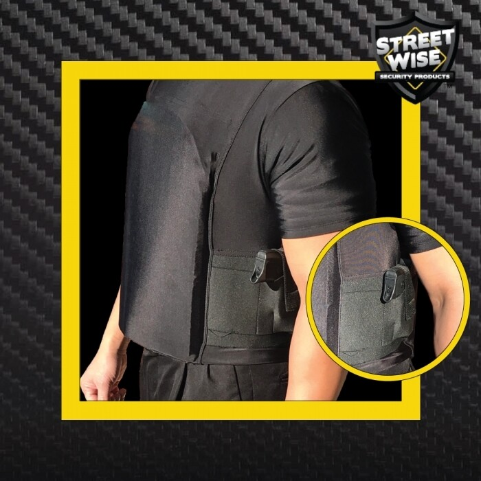 Streetwise Safe-T-Shirt (Ballistic Plate Carrier w/Holster) XL