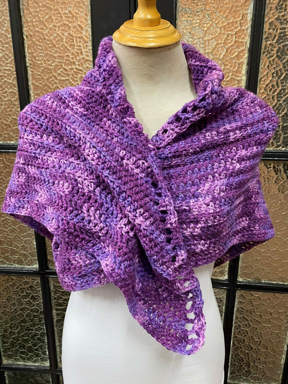 Purple Toned Shawl