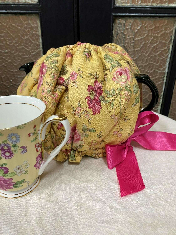 Golden Teapot Cosy
