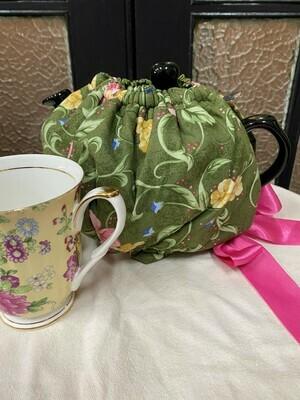 Green Floral Garden Tea Cosy