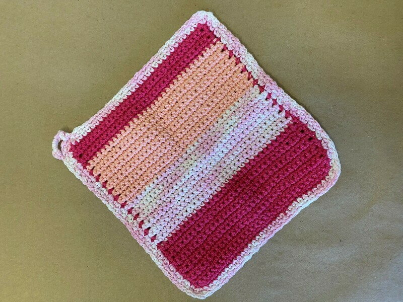Crazy for Pinks Wash Cloth