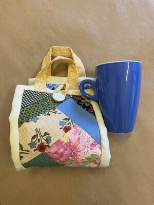Oh So Pretty Patchwork 'Mug to go' Bag