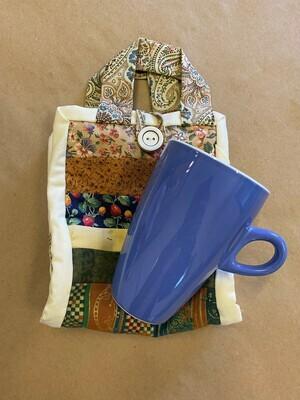 Cottage Patchwork 'Mug to go' Bag