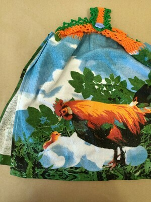 The Chick and The Hen Double Tea Towel