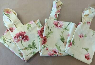 Yellow Romance Floral Shopping Bag