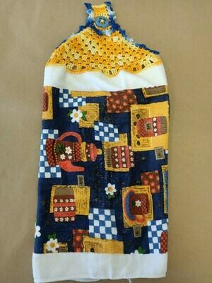Pot of Coffee Tea Towel