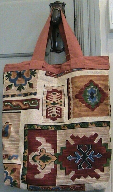 Aztec styled carry bag
