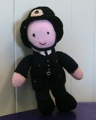 Police soft toy