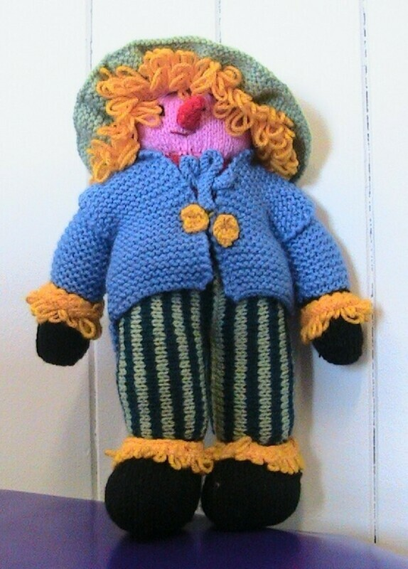 Scarecrow soft toy