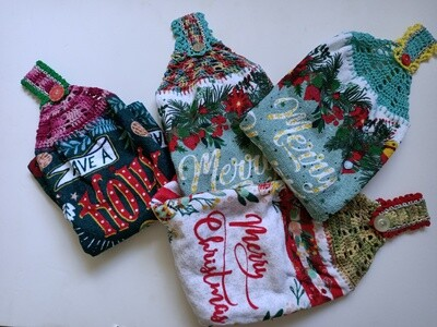 Assorted Christmas Hanging Hand towels