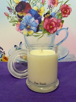 Pink Petals Candle