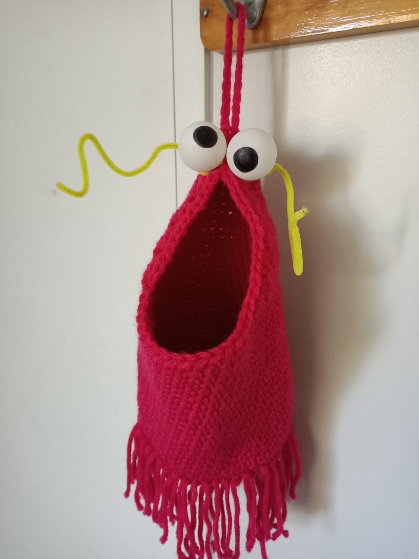 Bright Pink Yip Yip - Hanging Storage (ref # 185)