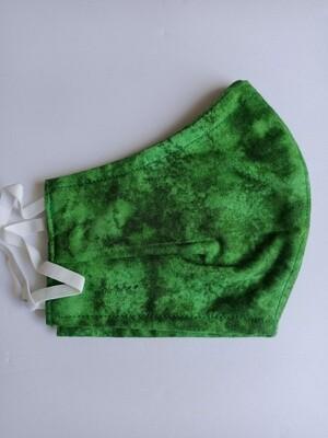 Medium Adult Face Mask - Green (ref # 29)