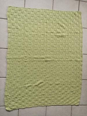 Green Knit Rug - 100% cotton (ref # 193)