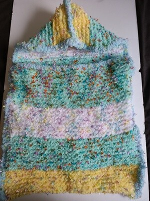 Multicolour Baby Cocoon - Size 0 to 3 months , 100% Polyester, cool hand wash (ref # 215)