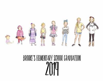 Graduation timelines (8 mini illustrations)