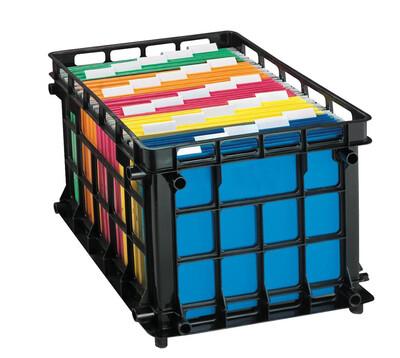 Esselte / File Crates, Black