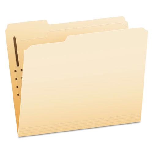 Pendaflex® Manila Folders with One Fastener, 1/3-Cut Tabs, Letter Size, 50/Box