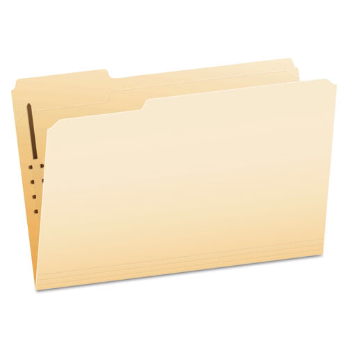 Pendaflex® Manila Folders with One Fastener, 1/3-Cut Tabs, Legal Size, 50/Box