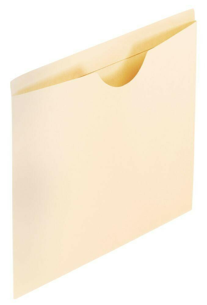 Pendaflex / Manila Reinforced File Jackets, Letter size, Manila
