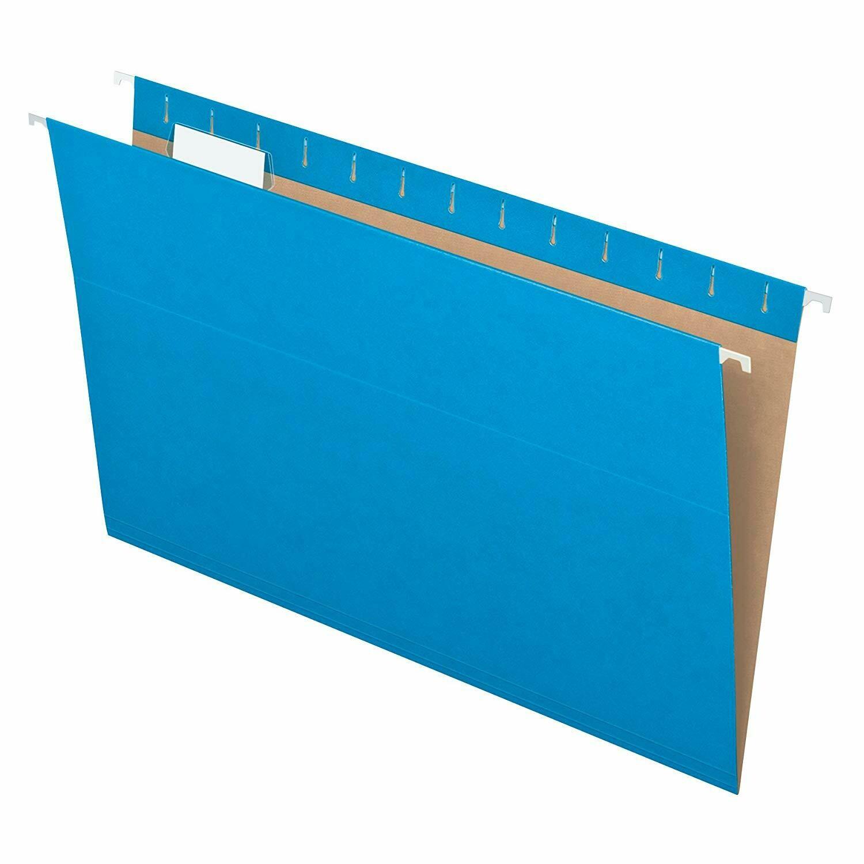 Pendaflex / Hanging File Folders, Recycled, Legal Size, 1/5 Cut, Pk-25