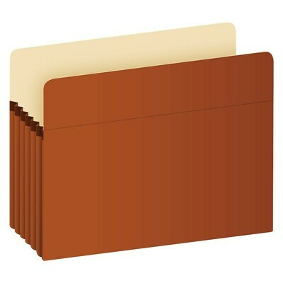 Pendaflex / Recycled File Pockets, Legal Size, Red Fiber, 5.25