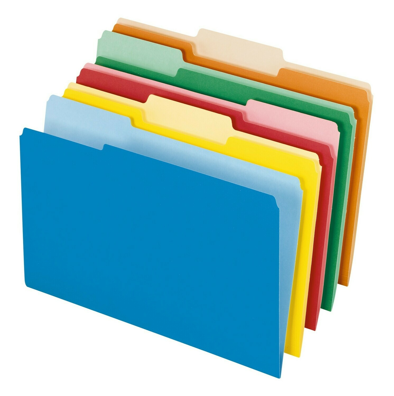 Pendaflex / File Folders, Legal Size, Assorted Colors