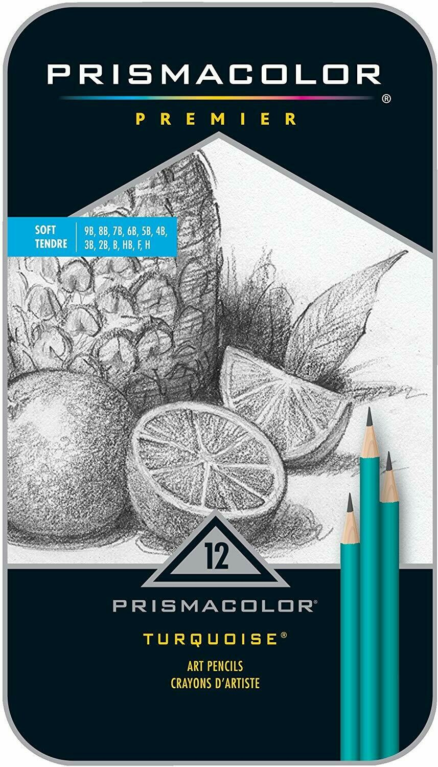 Prismacolor / Turquoise Drawing Pencils / #375 [set-12]