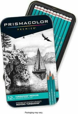 Prismacolor / Turquoise Drawing Pencil / Medium [set-12]