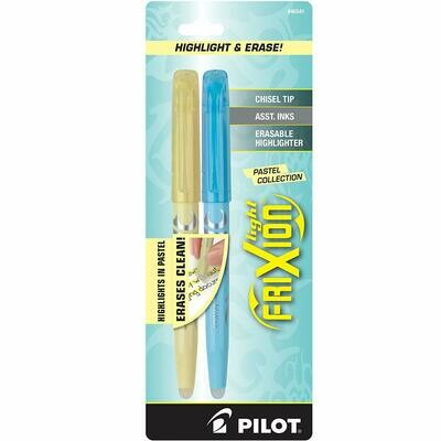 Pilot / FriXion Light Pastel Collection Erasable Highlighters