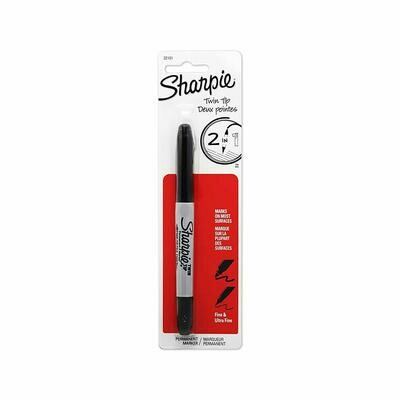 Sharpie / Twin Tip Fine Point and Ultra Fine Point Permanent Markers