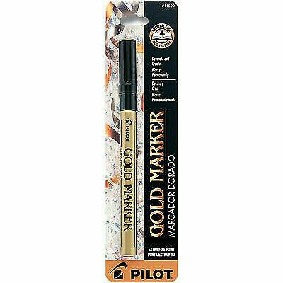 Pilot / Gold Metallic Permanent Paint Marker, Extra Fine Point
