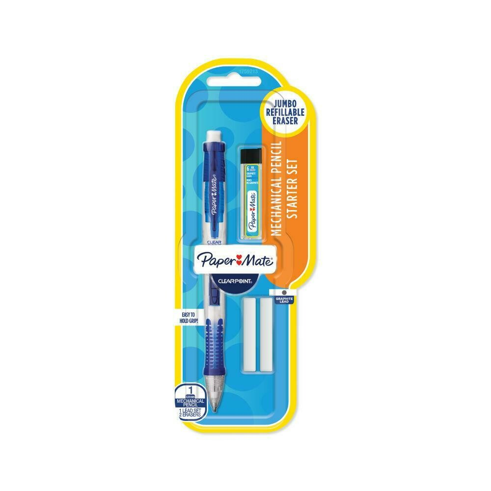 Paper Mate / Mechanical Pencil, Clearpoint, 0.9mm w/Twist Erase