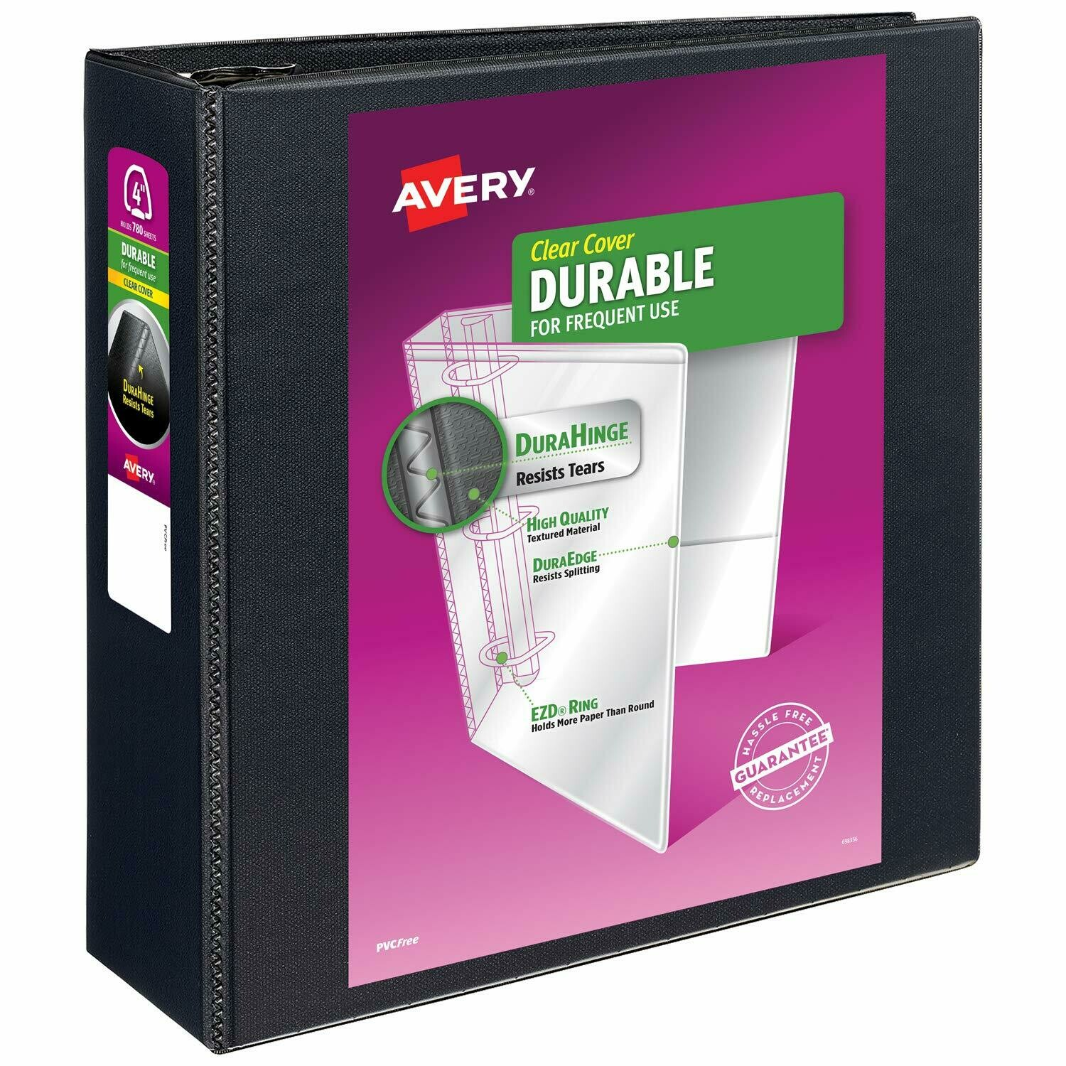 Avery / Binder, 4.0 Inch, Durable View 3 EZD Ring