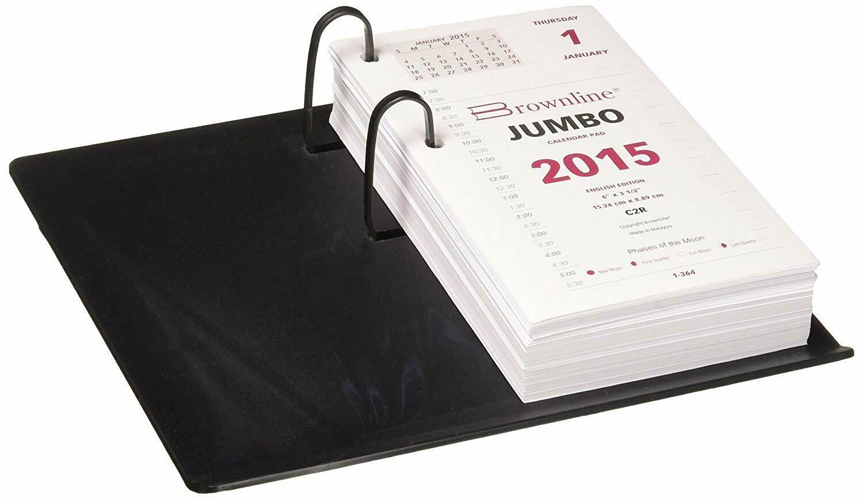 Officemate / Calendar Holder, Black, Plastic