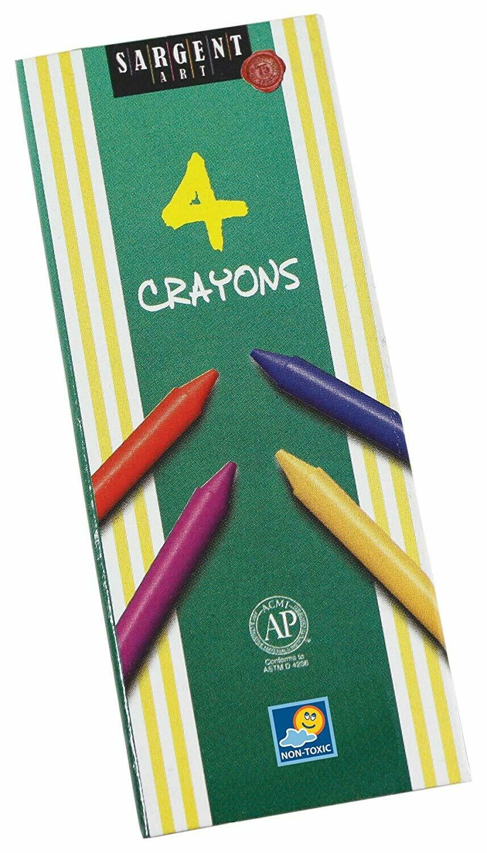 Sargent Art / Crayons 4 Colors